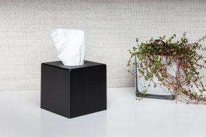 Cosmetic cube nero opaco